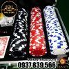 300 Phỉnh Chip Poker Không Số Cao Cấp