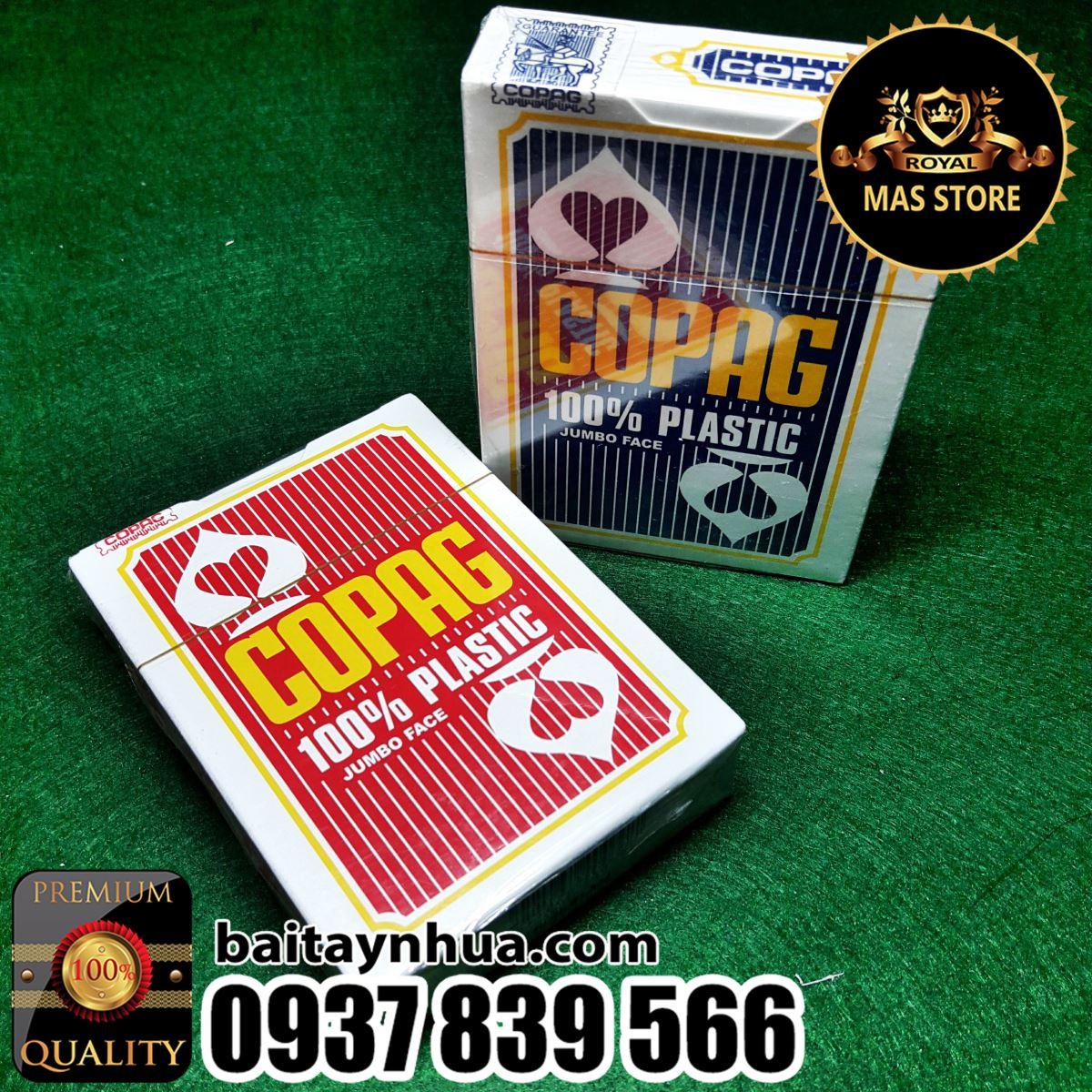 Bài Nhựa Poker COPAG Cao Cấp 100% Plastic