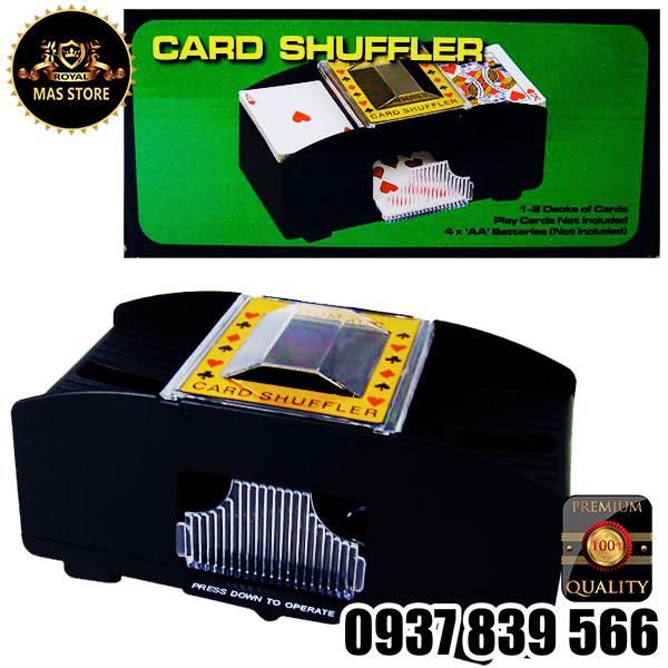 Máy Xào Bài Cao Cấp Casino - Card Shuffler