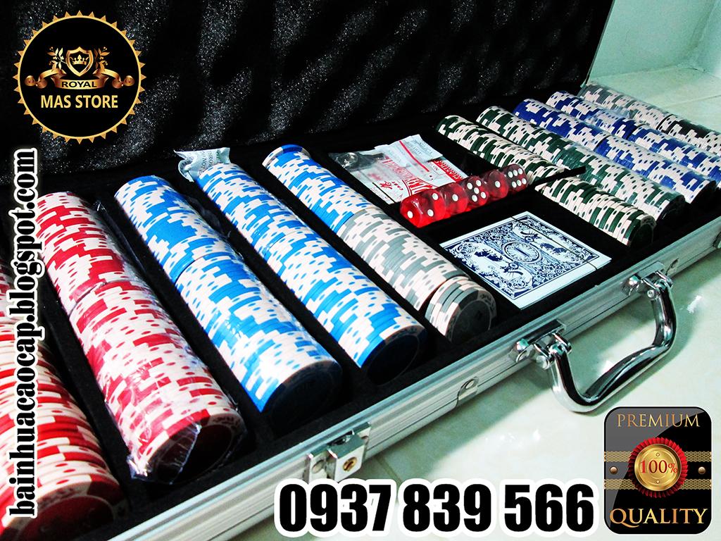 500 Phỉnh Poker Monte Carlo Cao Cấp Có Số