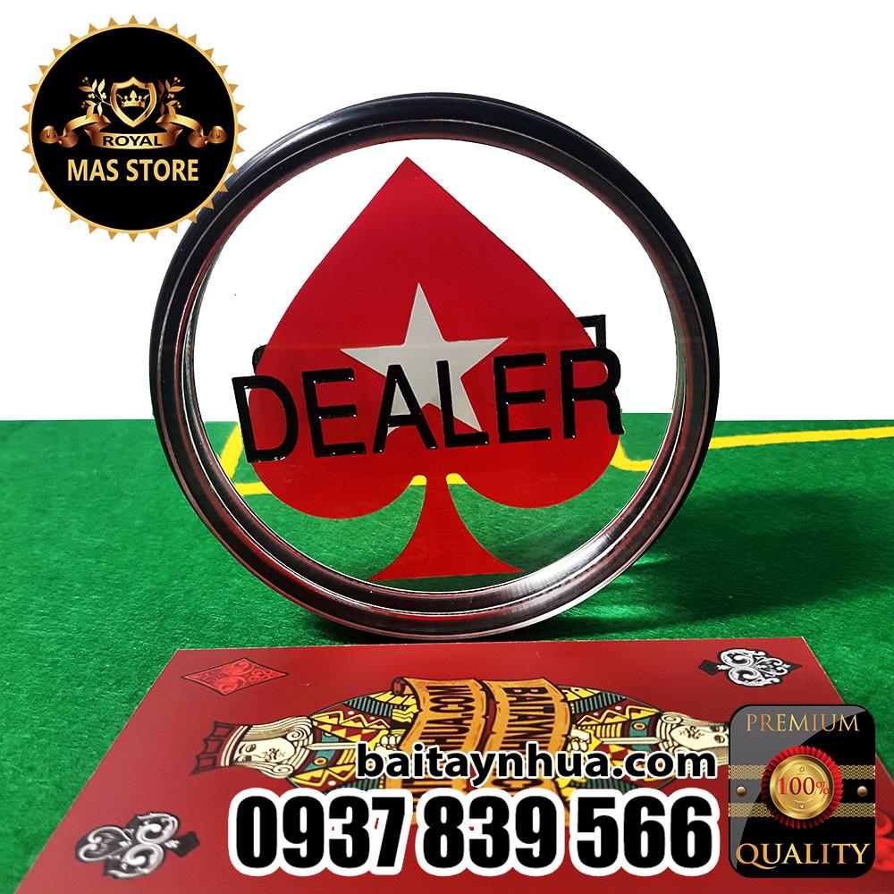 Nút DEALER Pokerstars Chuyên Nghiệp Cao Cấp