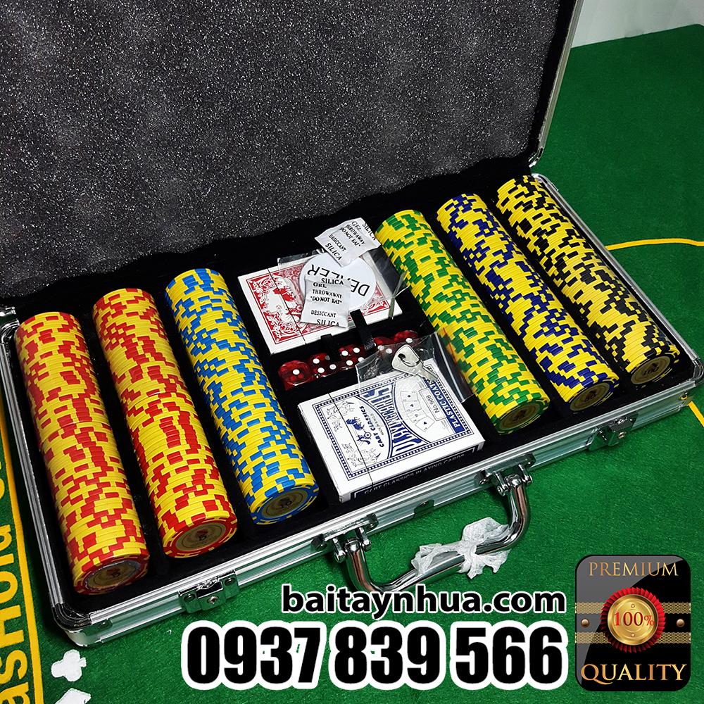 300 Phỉnh Poker Club Cao Cấp Có Số
