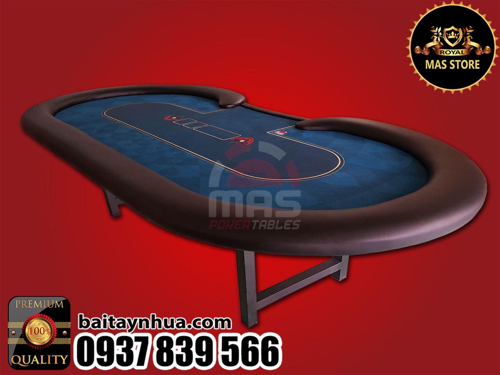 Bàn Poker Chân Xếp Cao Cấp 034