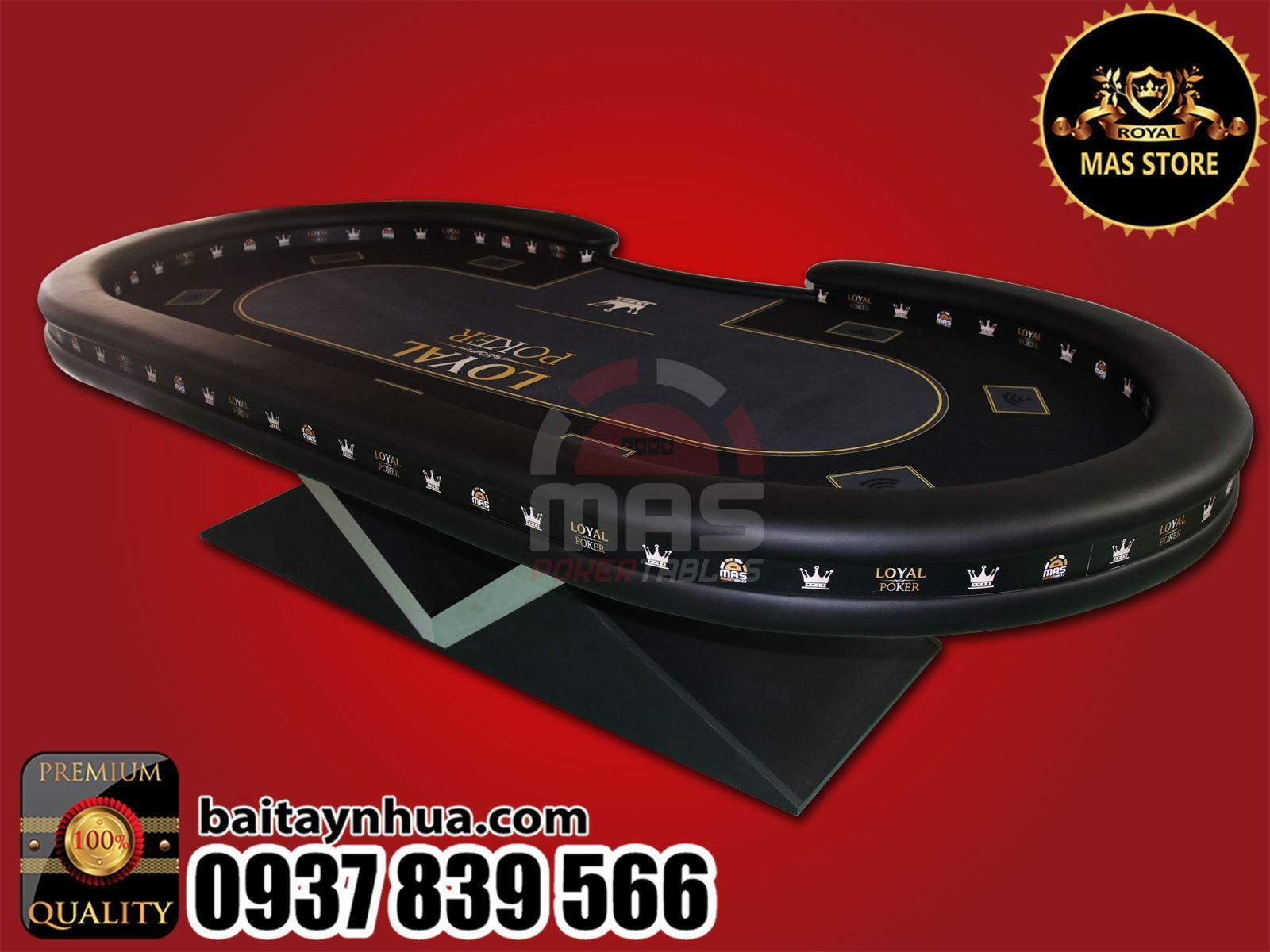 Bàn Poker Cao Cấp 046 - FINAL POKER TABLE