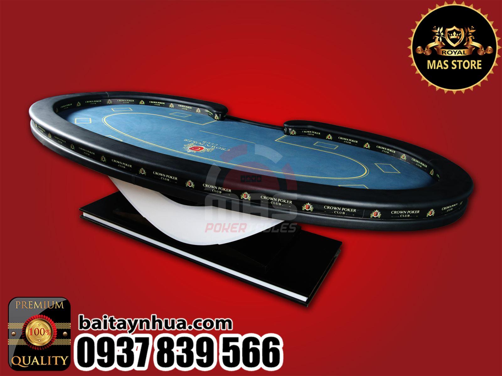 Bàn Poker Cao Cấp 045 - FINAL POKER TABLE
