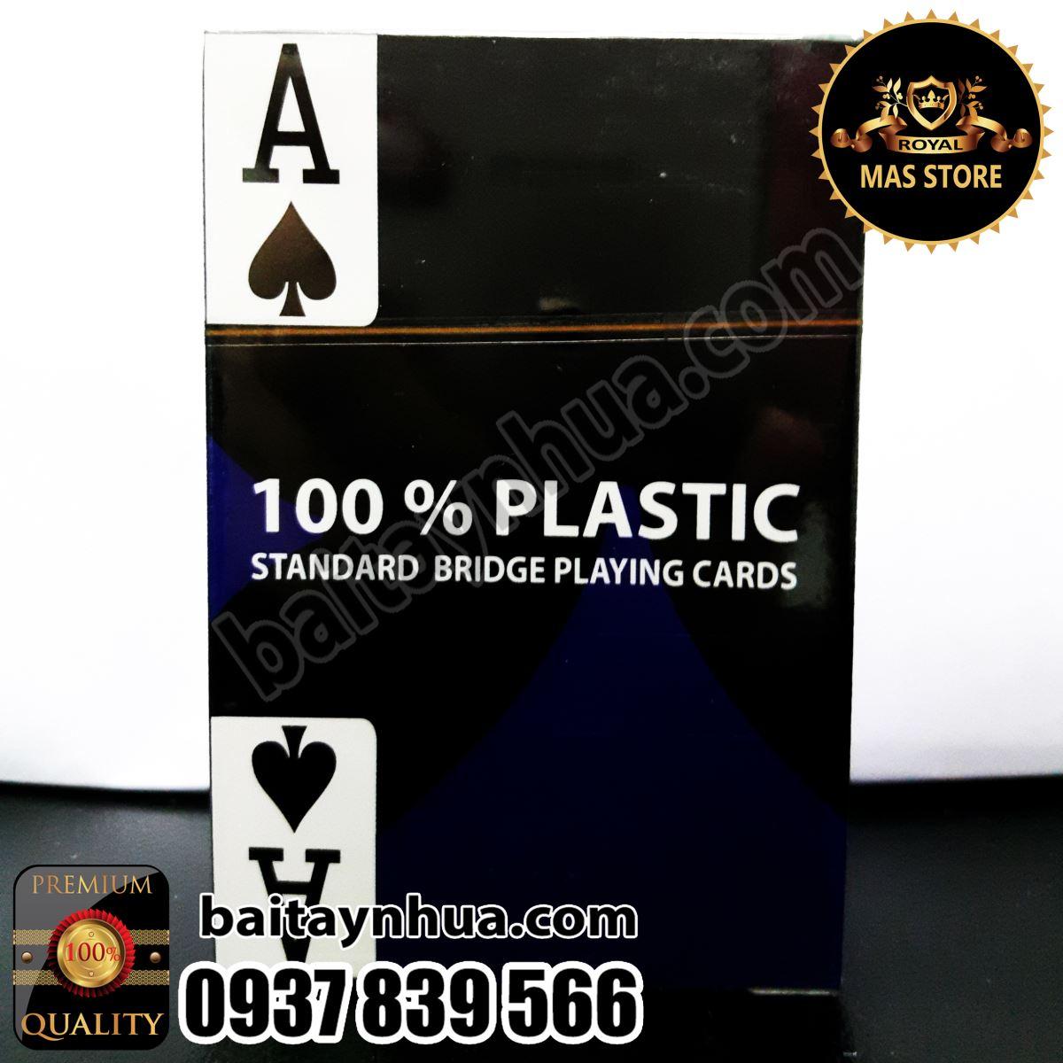Bài Tây Nhựa Mỹ CAO CẤP - 100% Plastic