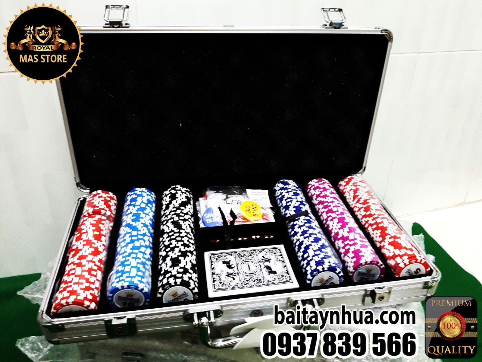 300 Phỉnh Poker National Cao Cấp Có Số