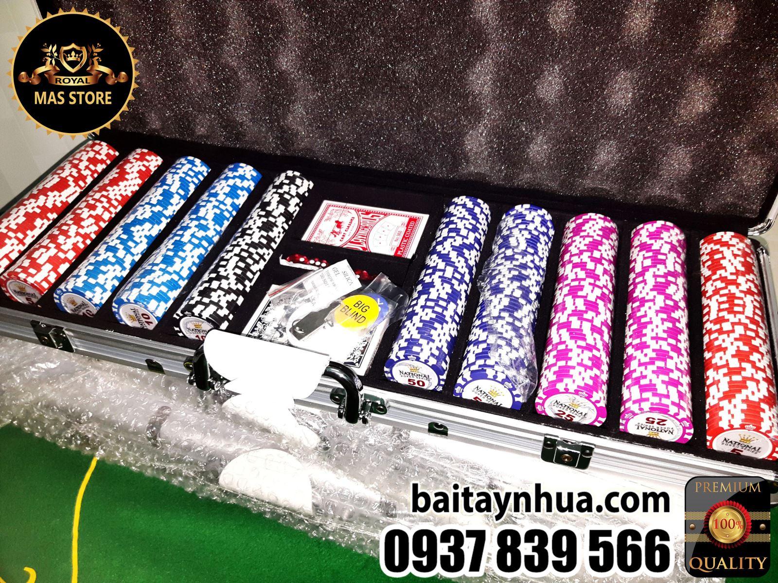 500 Phỉnh Poker National Cao Cấp Có Số