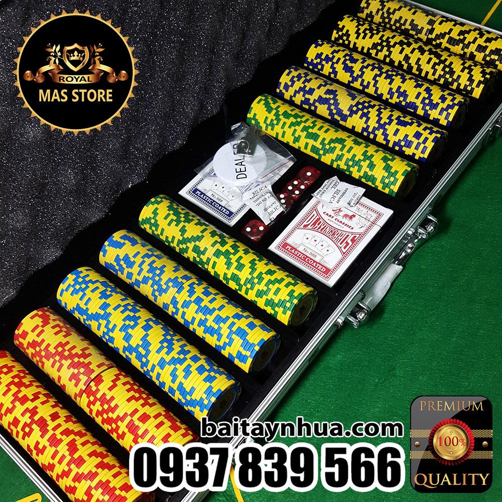 500 Phỉnh Poker Club Cao Cấp Có Số