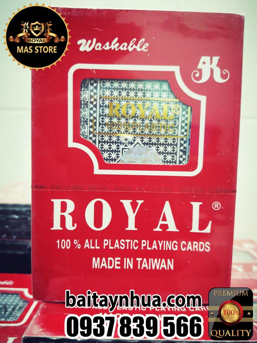 Bài Tây Nhựa Royal Cao Cấp 100% Plastic - Taiwan 027